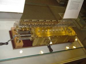 A Leibniz tervei alapján újraépített gép